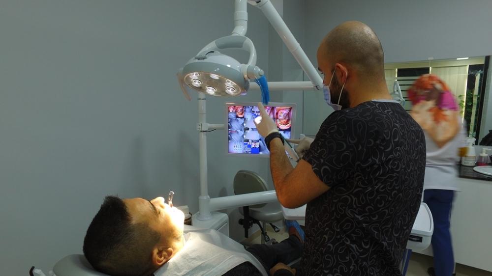 Karanfil Ağız ve Diş Sağlığı Polikliniğine Yoğun İlgi Gösteriliyor galerisi resim 1