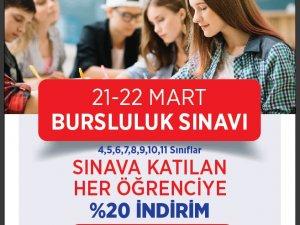 EN İYİLERİN TERCİHİ SEBAT KURS 21-22 MART'TA BURSLULUK SINAVI YAPIYOR