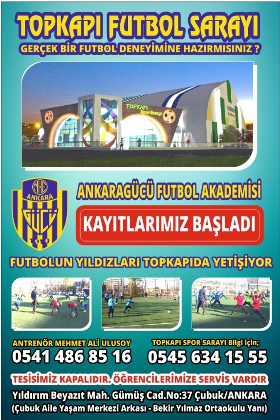 Ankaragücü Futbol Akademisi Açıldı galerisi resim 1