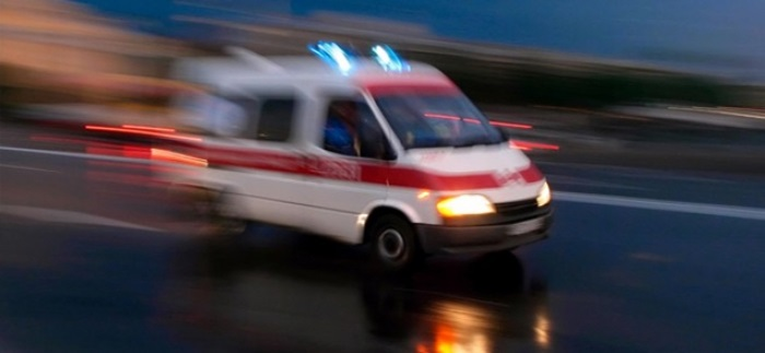 Çubuk'ta otomobil takla attı: 1 ölü, 2 yaralı