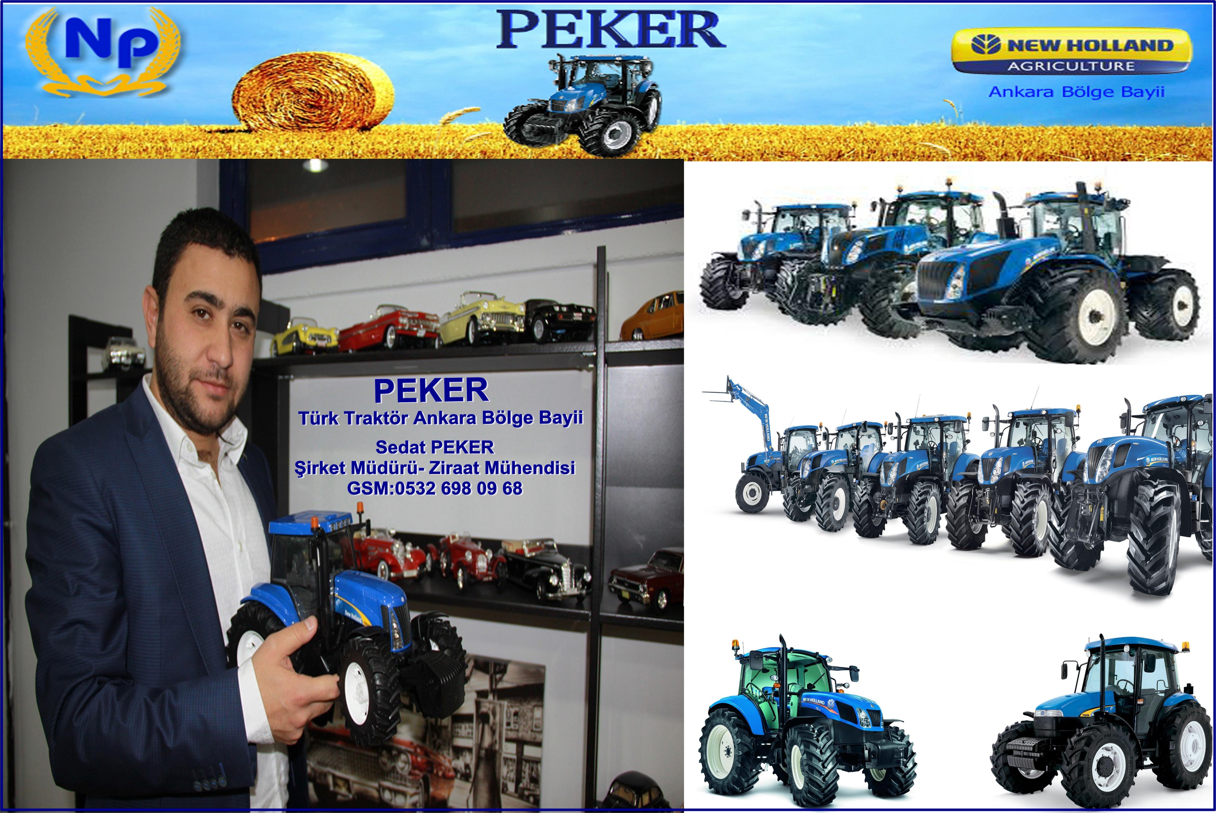 Traktör sahibi olmanın en kolay yolu PEKER'den geçmektedir…