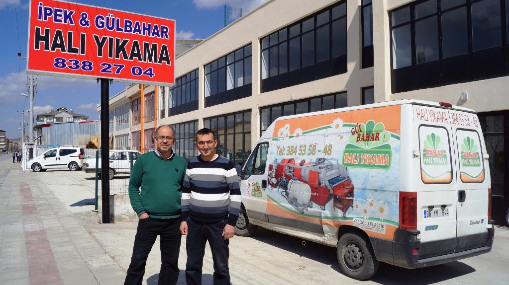 Anadolu'nun En Büyük Halı Yıkama Fabrikası Yeni Sezonu Açtı
