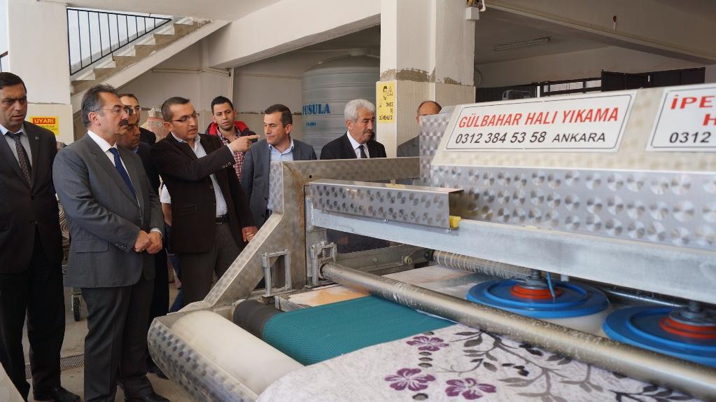 Anadolu'nun En Büyük Halı Yıkama Fabrikası Törenle Açıldı