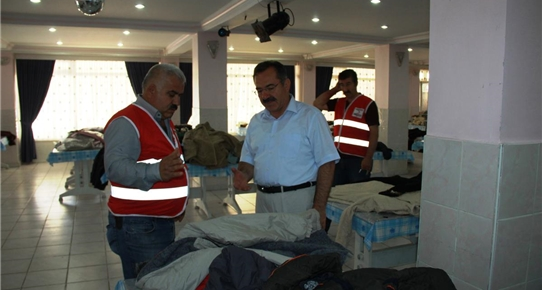 Çubuk Belediye Başkanı Acehan'dan Kızılay'a ziyaret