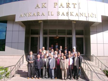 Akp İlçe Teşkilatından Ankara Çıkarması