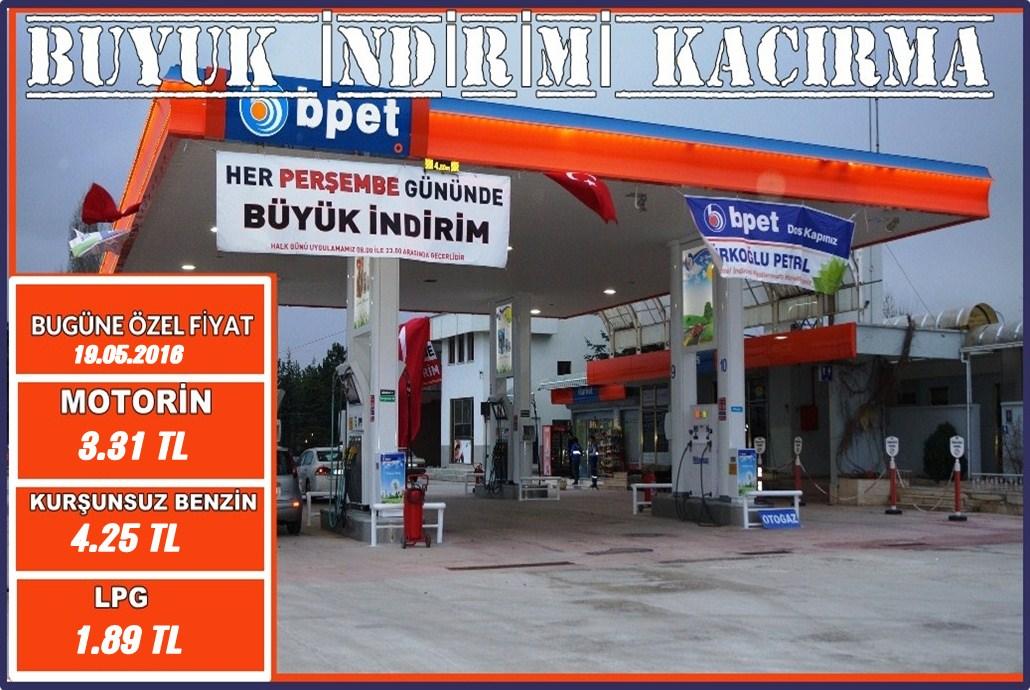 Türkoğlu Petrol'den 'Halk Günü' İndirimleri