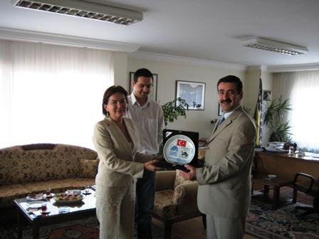 Büyükelçilere İadeyi Ziyaret