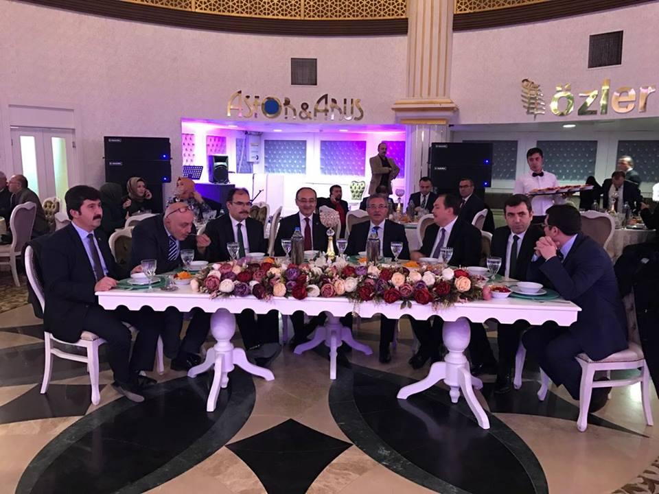 Pursaklar Belediye Başkanı Çetin akademisyenlerle bir araya geldi