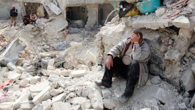 Çubuk'ta Halepliler İçin Yardım Kampanyası