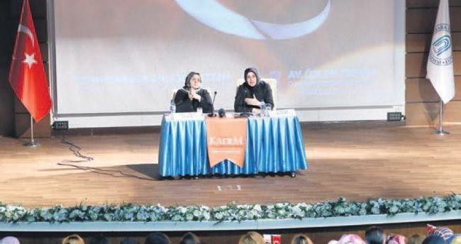 Zengin'den kadınlara referandum semineri