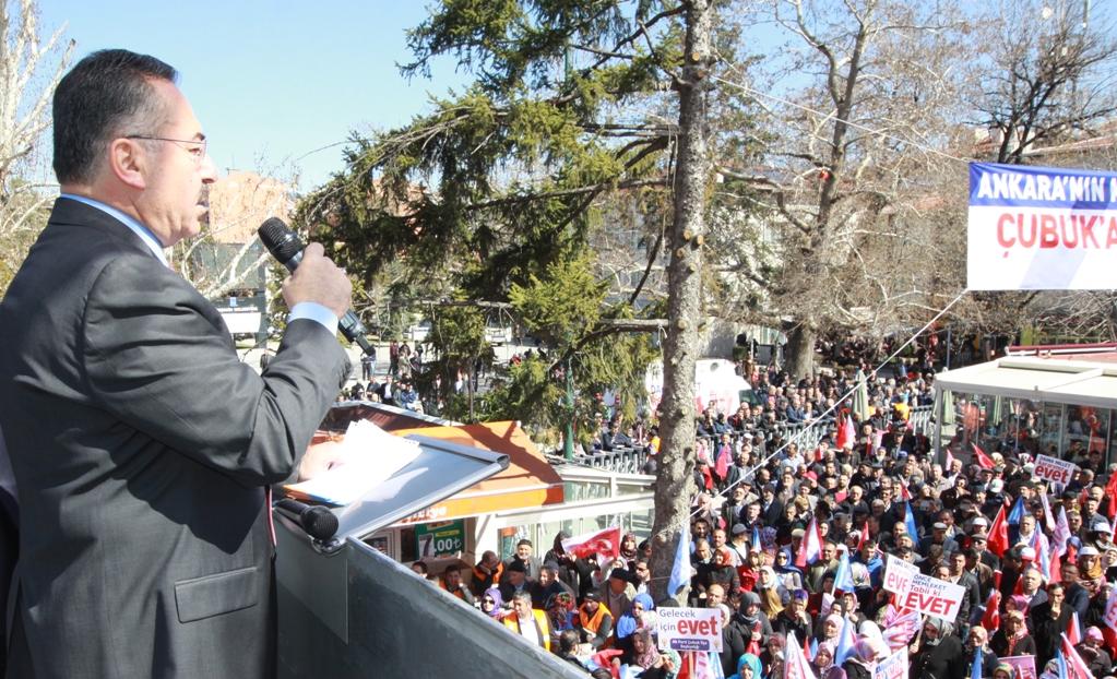 Başkan Acehan'dan Çubuk halkına teşekkür