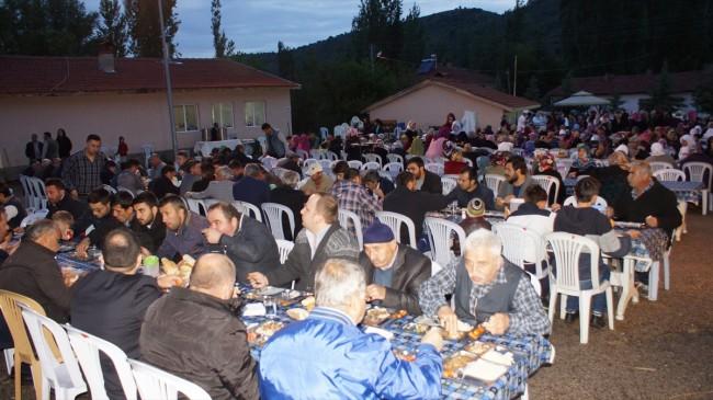 Çubuk'ta ramazan geleneği 8 yıldır sürdürülüyor