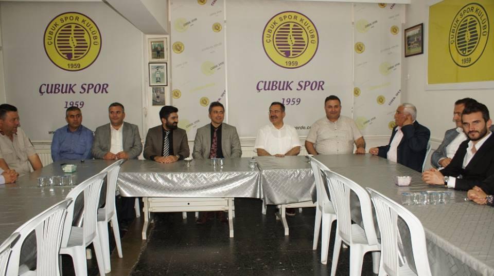 Kaymakamdan Çubukspor Kulübüne Ziyaret