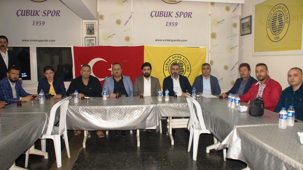 Muammer Aktaş'tan Çubukspor'a destek