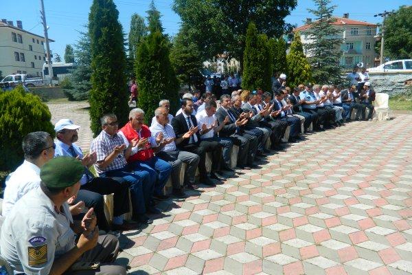 """""""15 TEMMUZ ŞEHİTLERİNİ ANMA"""" YILDÖNÜMÜ ETKİNLİKLERİ..."""