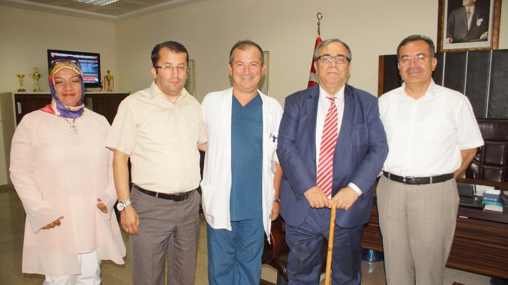 Eski Sağlık Bakanı Şıvgın, isminin verildiği hastaneyi ziyaret etti
