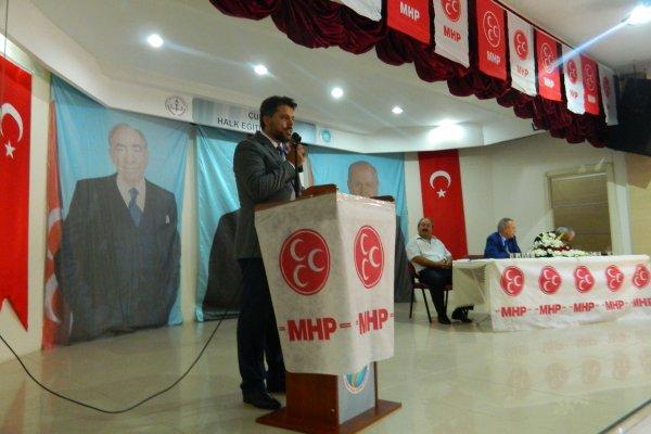 MHP ÇUBUK İLÇE TEŞKİLATI'NIN 11. OLAĞAN KONGRESİ YAPILDI...