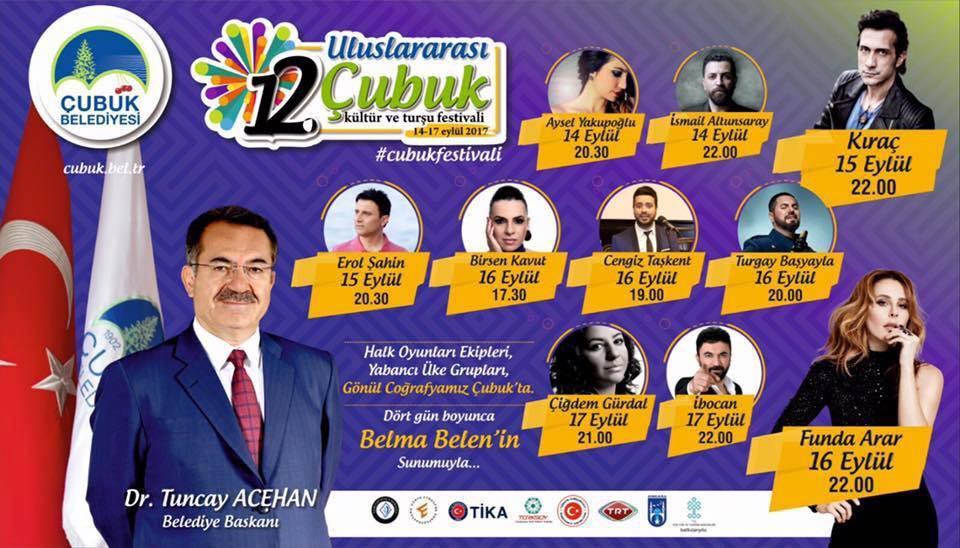 12. Uluslararası Çubuk Kültür ve Turşu Festivali