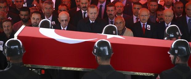 Şehit Yüzbaşı Mustafa Erdal'a veda