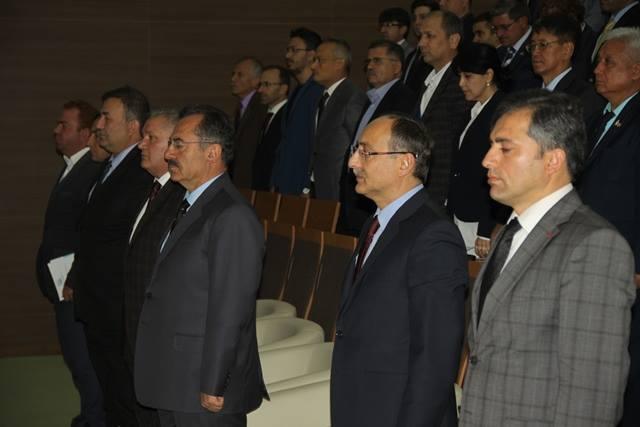 Başkan Acehan, akademisyenleri misafir etti