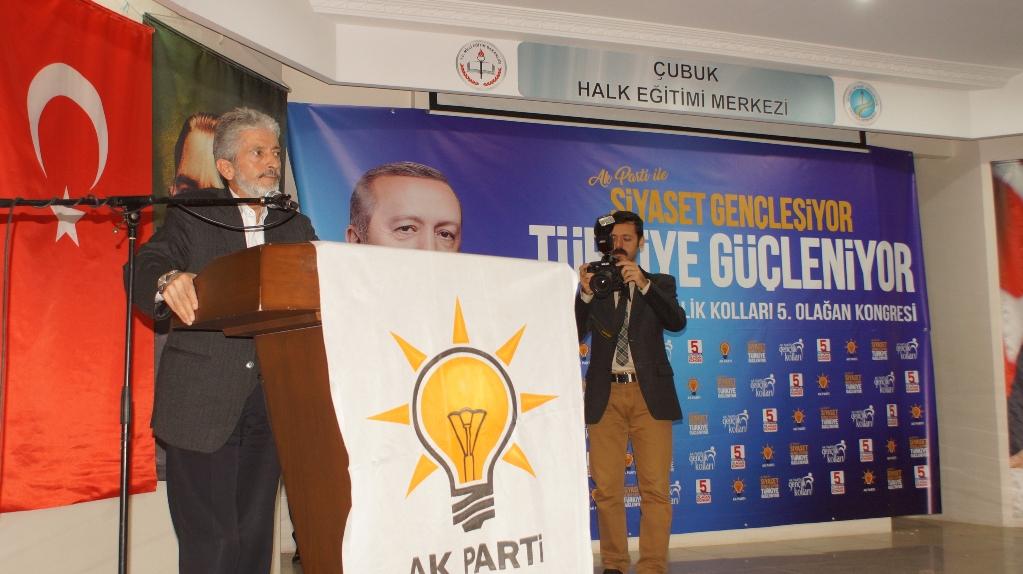 AK Parti Çubuk İlçe Gençlik Kolları Başkanı Doğan Güven Tazeledi
