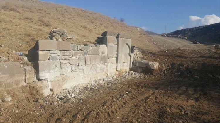 Çubuk'ta Tarihi Su Kemeri Ve Çeşme Restore Ediliyor