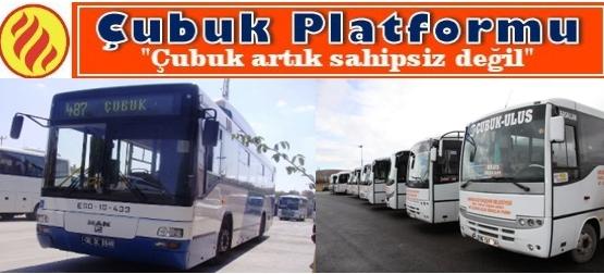"""ÇUBUK PLATFORMU'NDAN İKİNCİ """"ULAŞIM RAPORU""""..."""