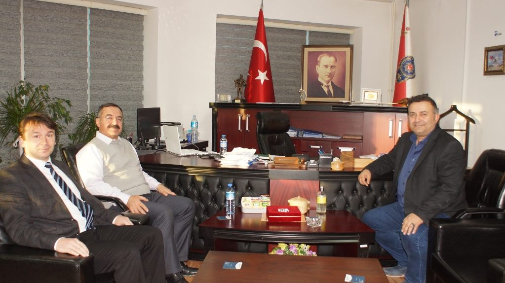 Başkan Acehan, Emniyet Müdürü Çam'ı Ziyaret Etti