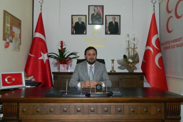 MHP ÇUBUK İLÇE TEŞKİLATINA YENİ ATAMA...