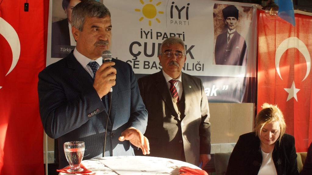 Çubuk'ta İyi Parti İlçe Teşkilatı Tanıtım Toplantısı Yapıldı