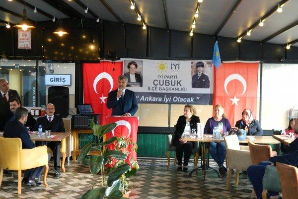 'İYİ PARTİ' ÇUBUK İLÇE TEŞKİLATI'NDAN TANITIM TOPLANTISI...