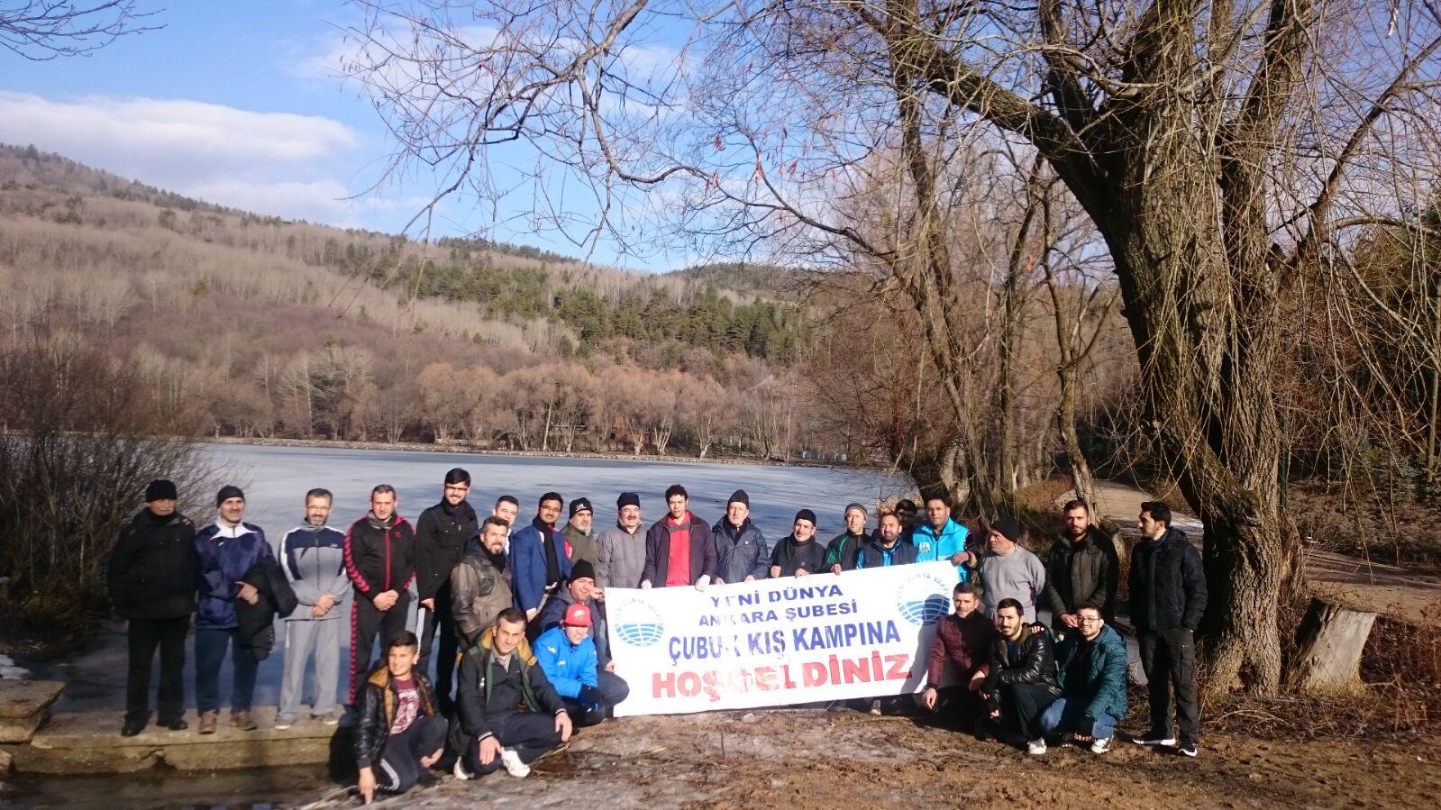 Yabancı öğrenciler Karagöl'de buluştu