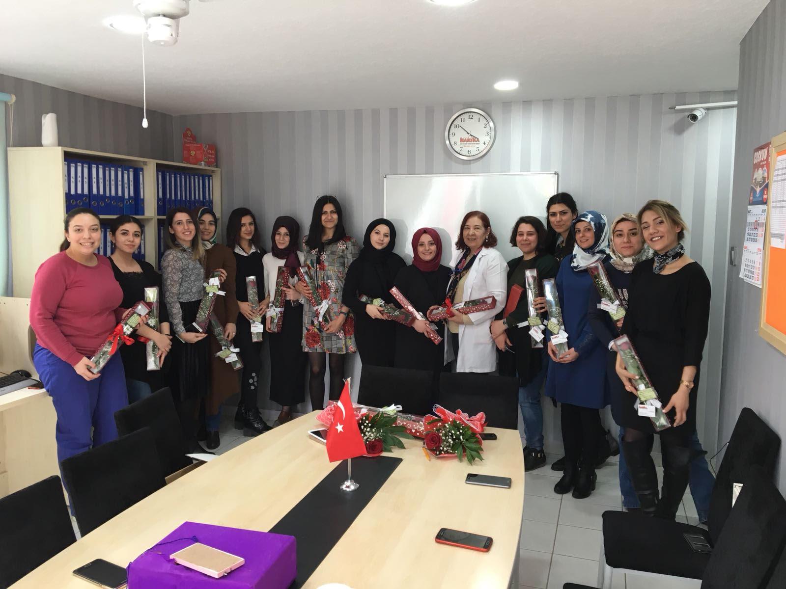 Harika Özel Eğitim Merkezi, 8 Mart Dünya Kadınlar Gününde kadınları unutmadı
