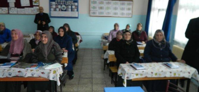 ÇUBUK'TA OKUMA YAZMA SEFERBERLİĞİ BAŞLADI...