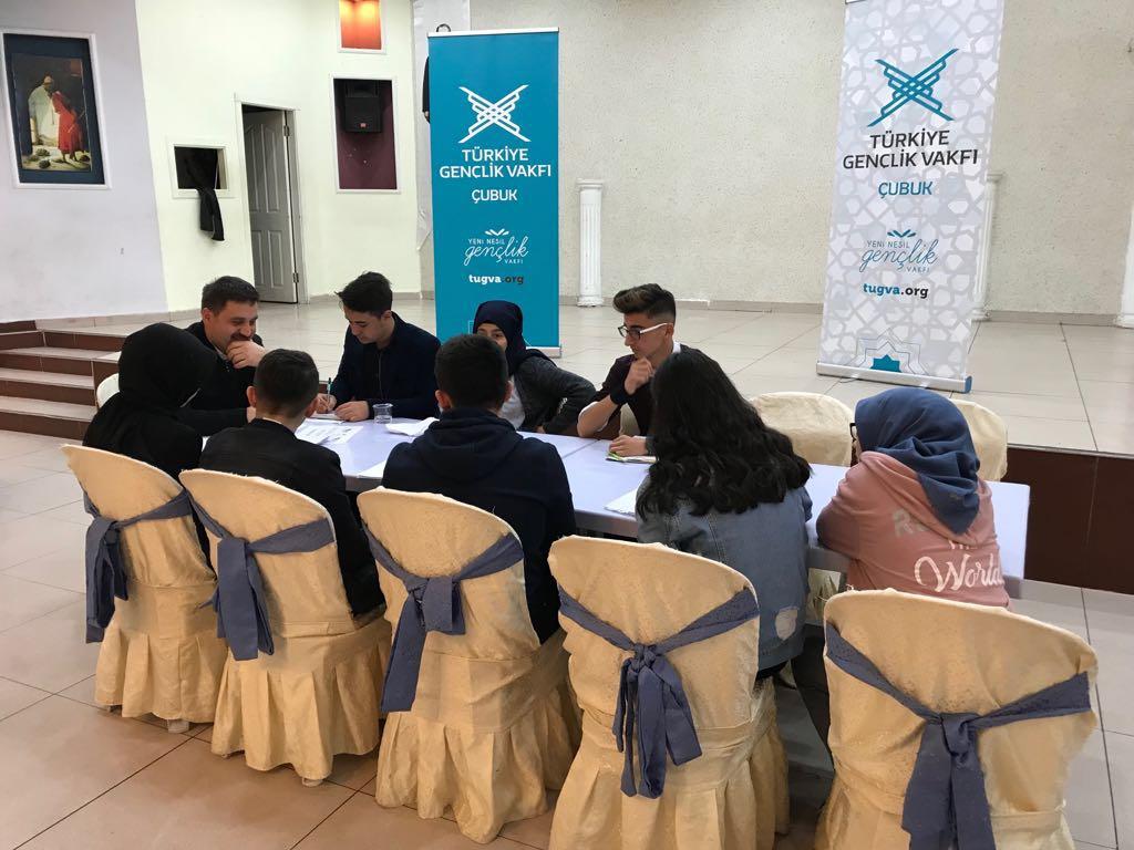 Çubuk'ta Öğrenciler Çalıştayda Buluştu