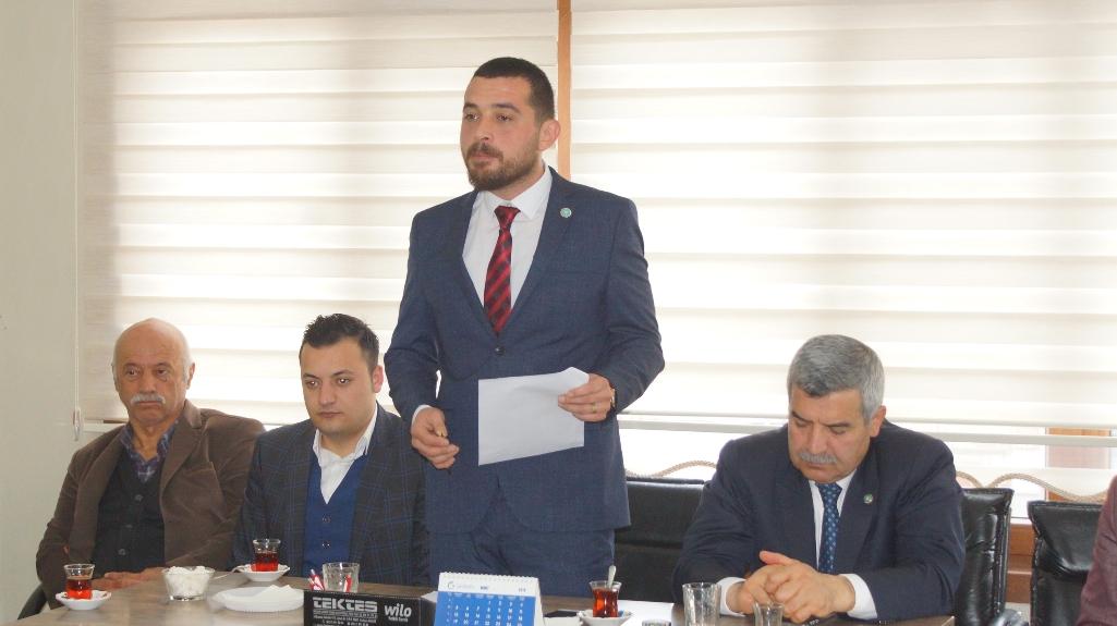 İYİ Parti Çubuk İlçe Başkanı Raşit Burkay Özgün Oldu