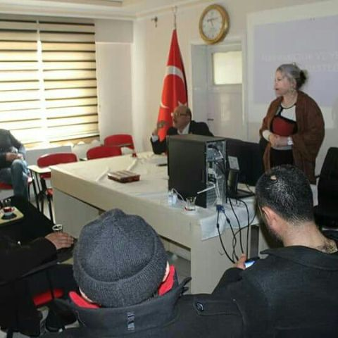 """AROMATİK BİTKİ YETİŞTİRİCİLİĞİ KURSU"" TAMAMLANDI..."