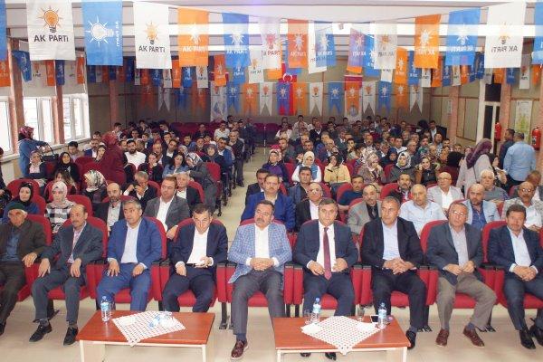 AK Parti Çubuk İlçe Danışma Kurulu toplandı