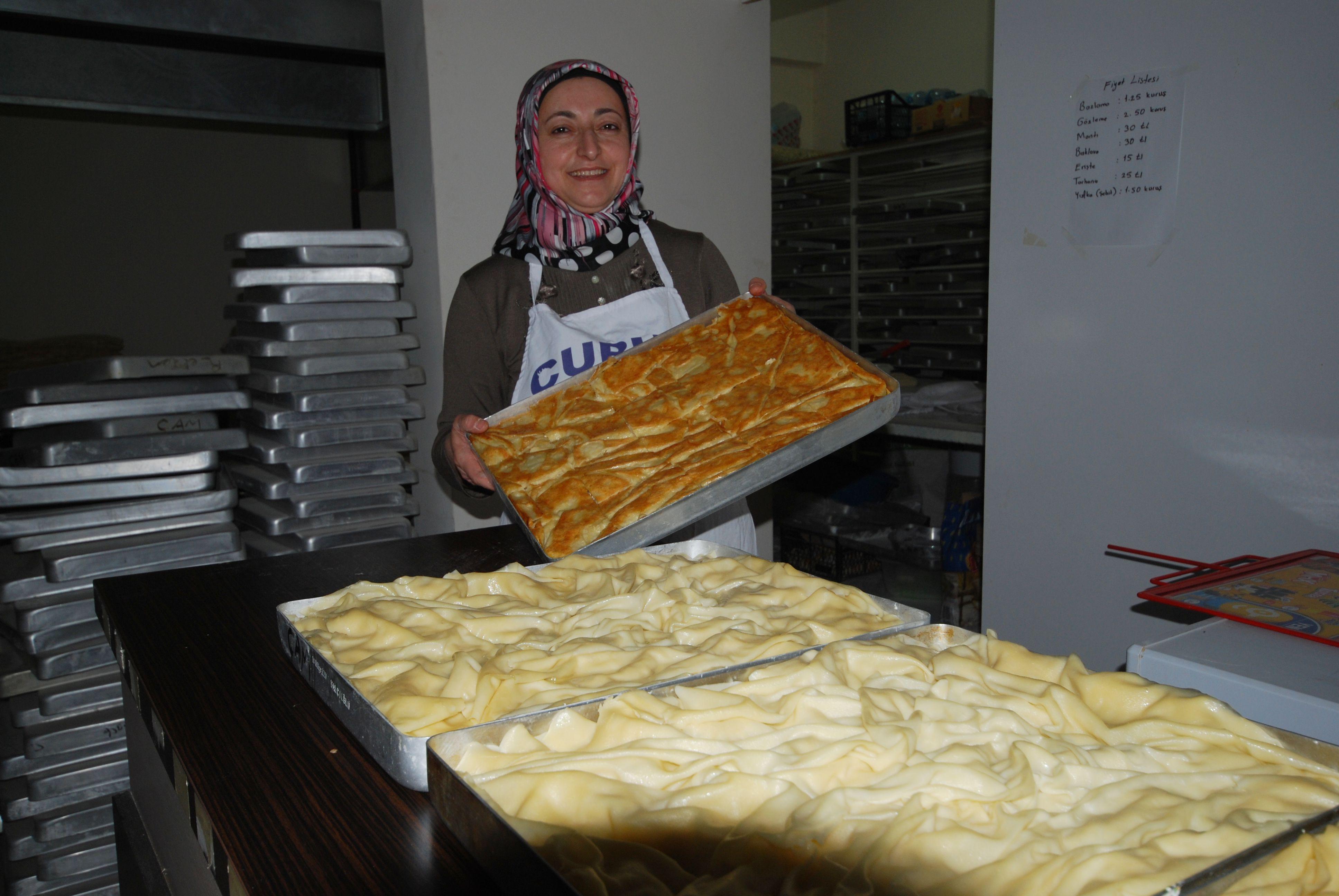 Ünlü Baklavacı Çubuk Baklavacısı Pakize Çam tatlı siparişleri alınmaya başladı