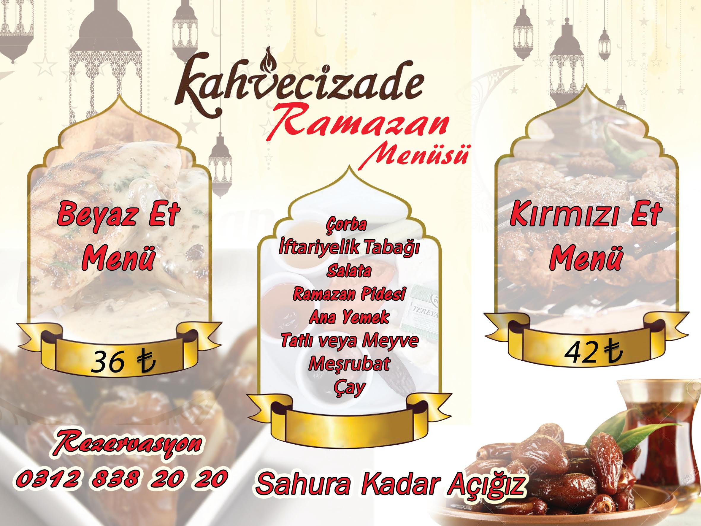 Ramazan Keyfi Kahvecizade'de Yaşanır