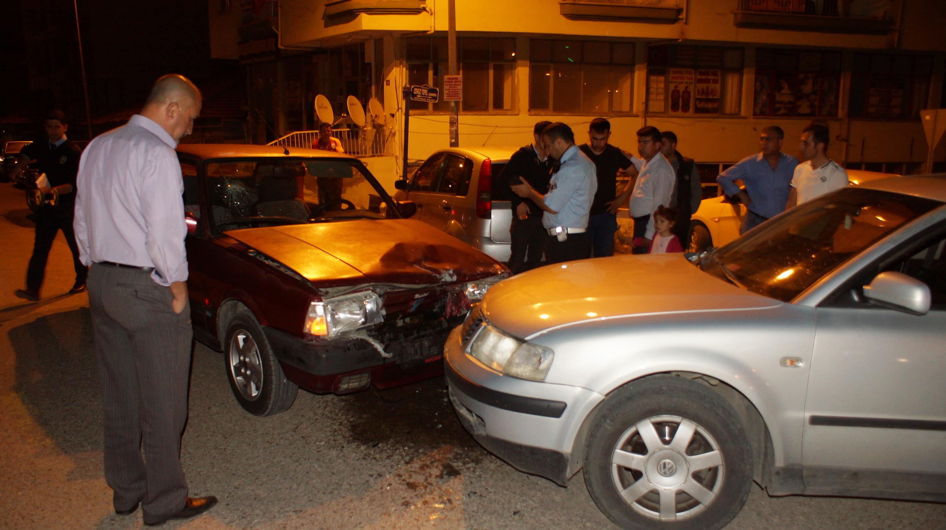 Çubuk'ta Trafik Kazası 2 Yaralı