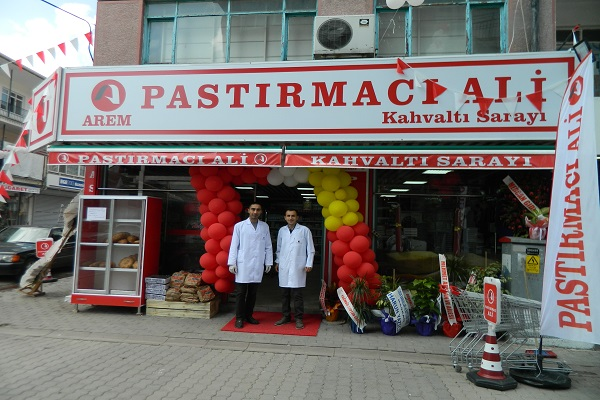 """PASTIRMACI ALİ"" KAHVALTI SARAYI AÇILDI..."