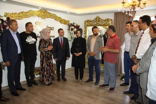 Çubuk'ta KOSGEB Destekli 7 İş Yeri Açıldı