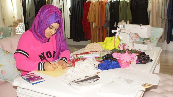 Güzel ve ucuz giyinmek için başladı KOSGEB desteğiyle iş yeri açtı