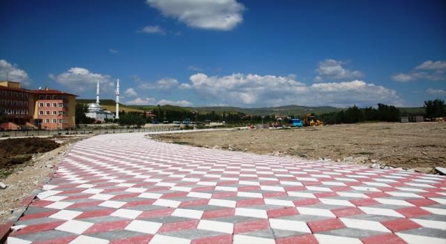 Çubuk'ta mesire alanı çalışmaları
