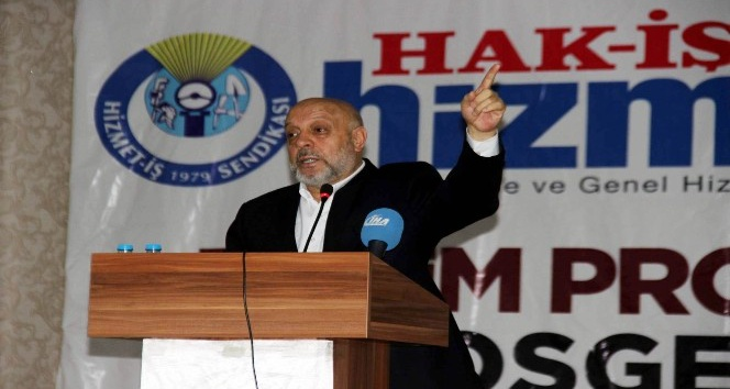 Hak-İş Konfederasyonu Genel Başkanı Mahmut Arslan Açıklaması