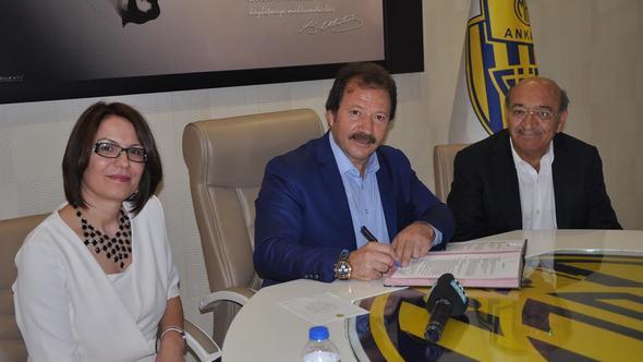 Ankaragücü'ne sponsor desteği