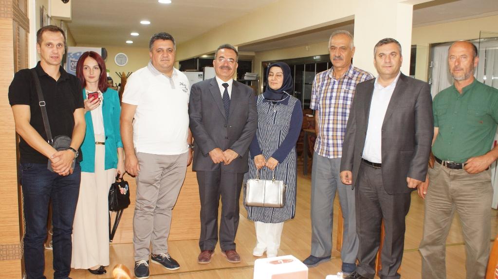 Başkan Acehan'a Bosna Hersek'ten Ziyaret
