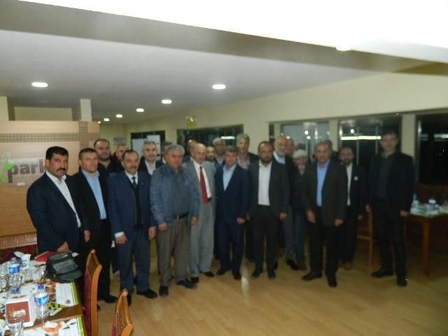 İBRAHİM TAŞKESTİ'DEN İSTİŞARE TOPLANTISI...