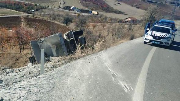 Çubuk'ta Trafik Kazası 1 Yaralı